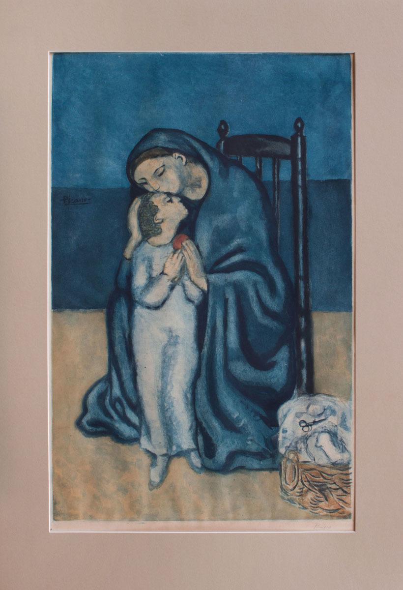 JACQUES VILLON (1875-1963), AFTER PABLO PICASSO: MATERNITÉ | Auction ...
