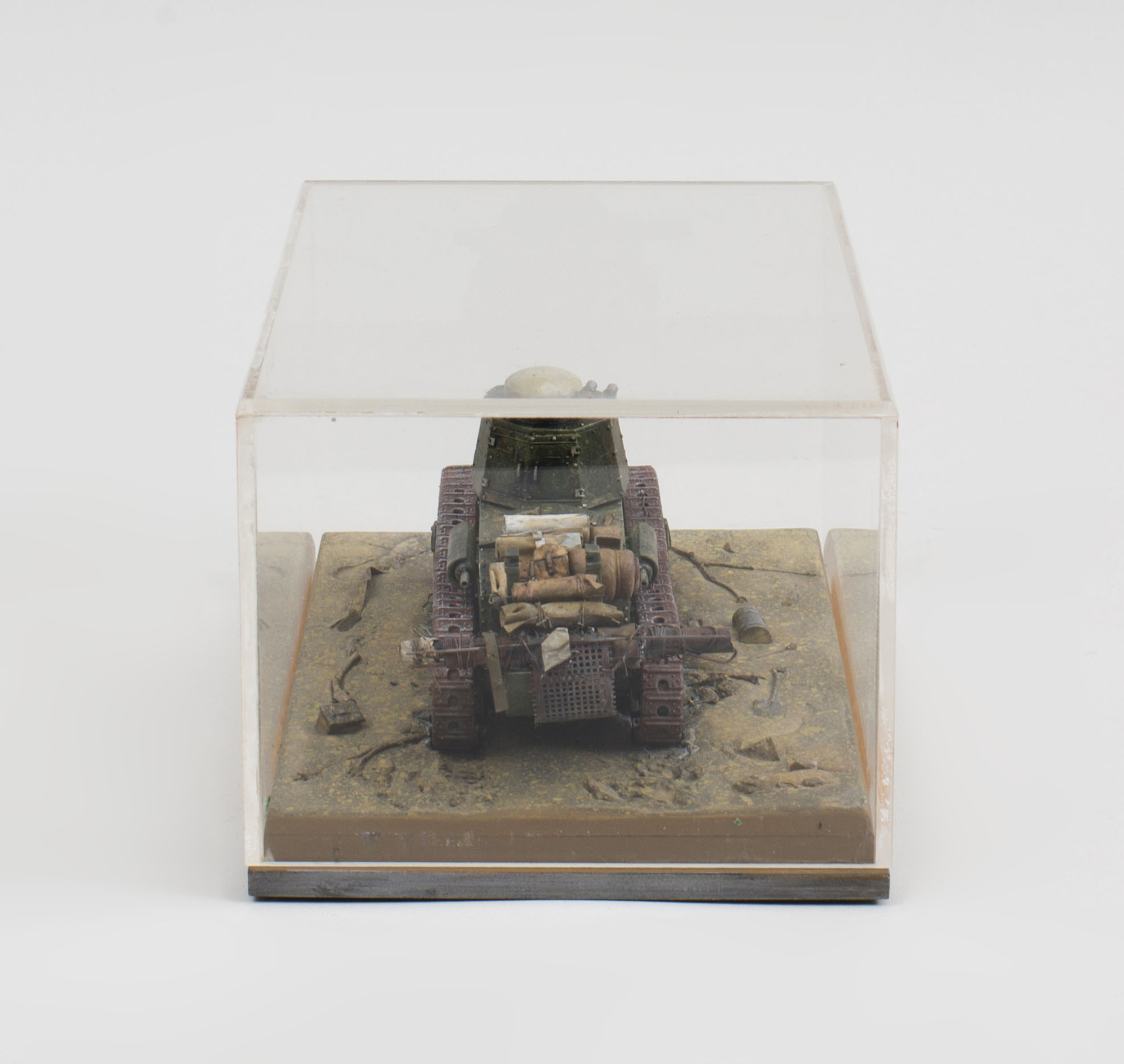 Painted Composite Model of World War I Tank | Auction House
