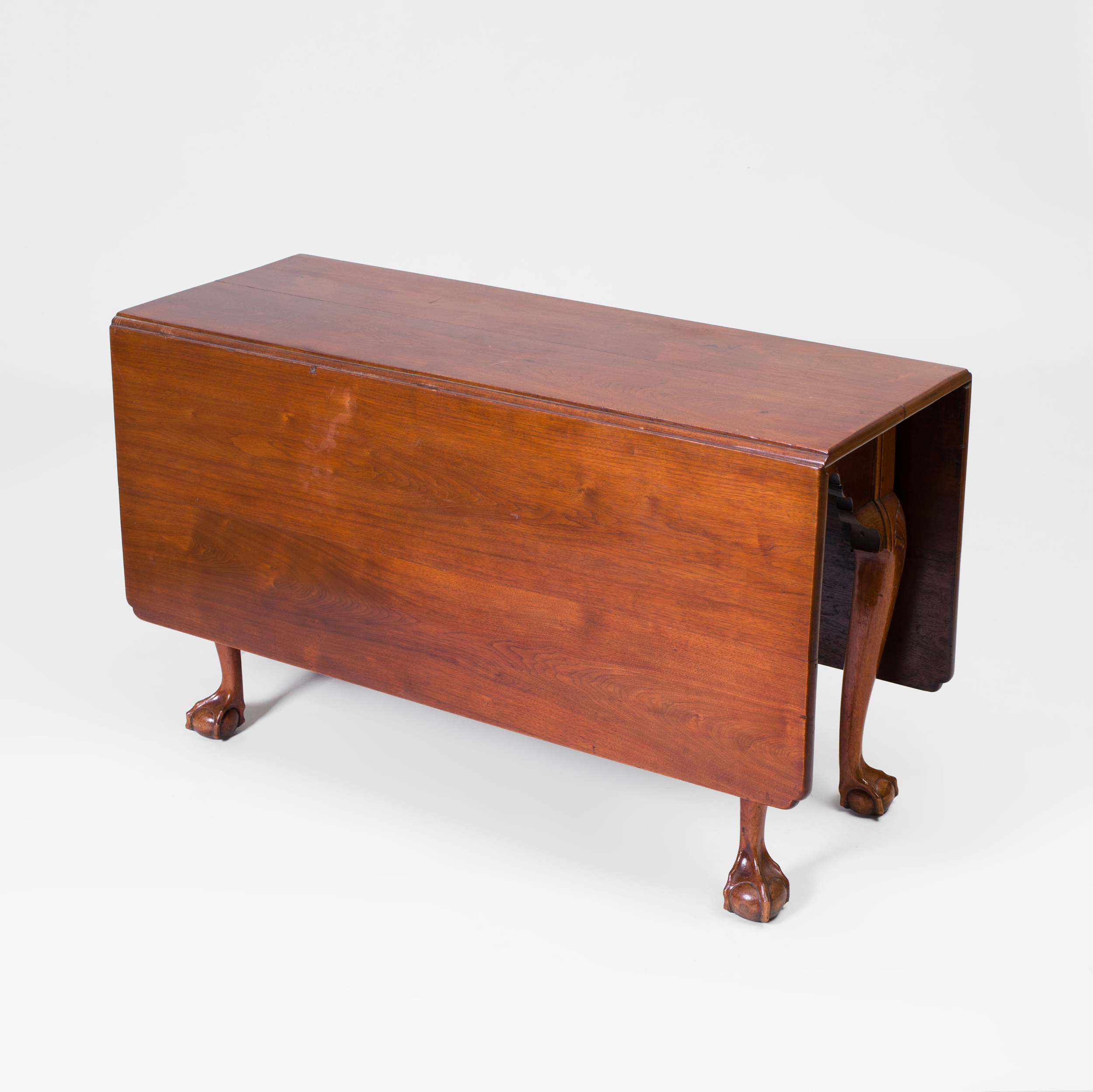 Chippendale Mahogany Drop Leaf Table Auction House Website