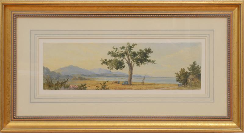 Augustus Burnett-Stuart (1850-1898): Otsu, Prefecture of Shiga, Lake Biwa, Japan