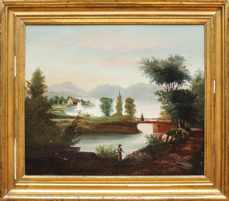 William H. Hilliard (1888-1951): Landscape and Lake