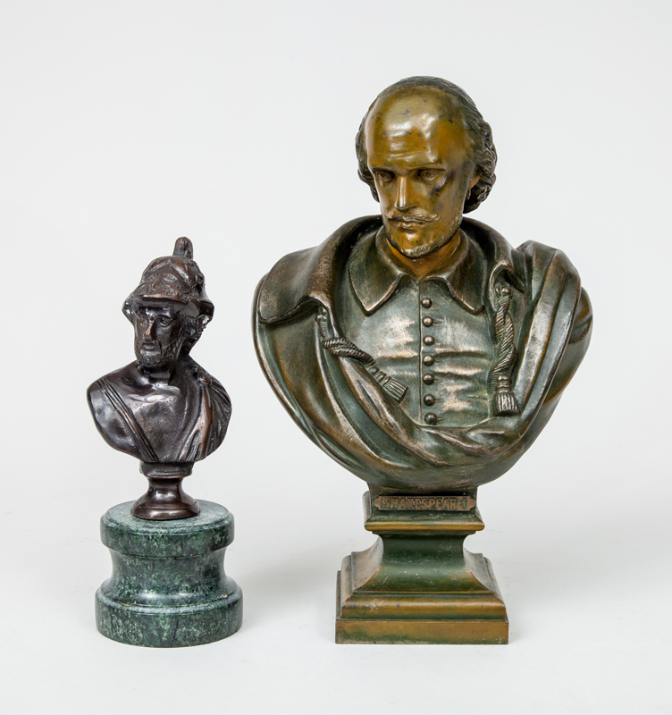 20th Century School: Shakespeare; and Soldier, After the Antique