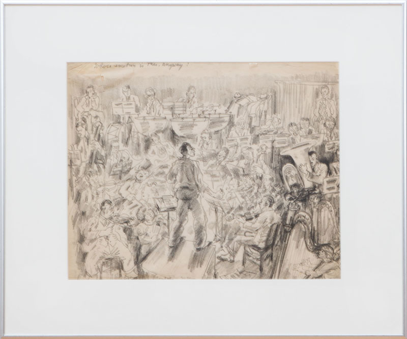 PEGGY BACON (1895-1987): STUDY FOR