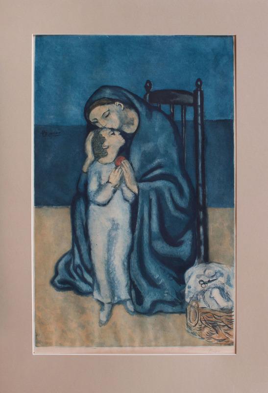 JACQUES VILLON (1875-1963), AFTER PABLO PICASSO: MATERNITÉ