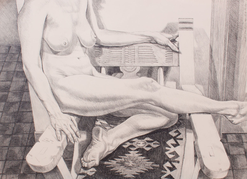 PHILIP PEARLSTEIN (b. 1924): NUDE IN NEW YORK