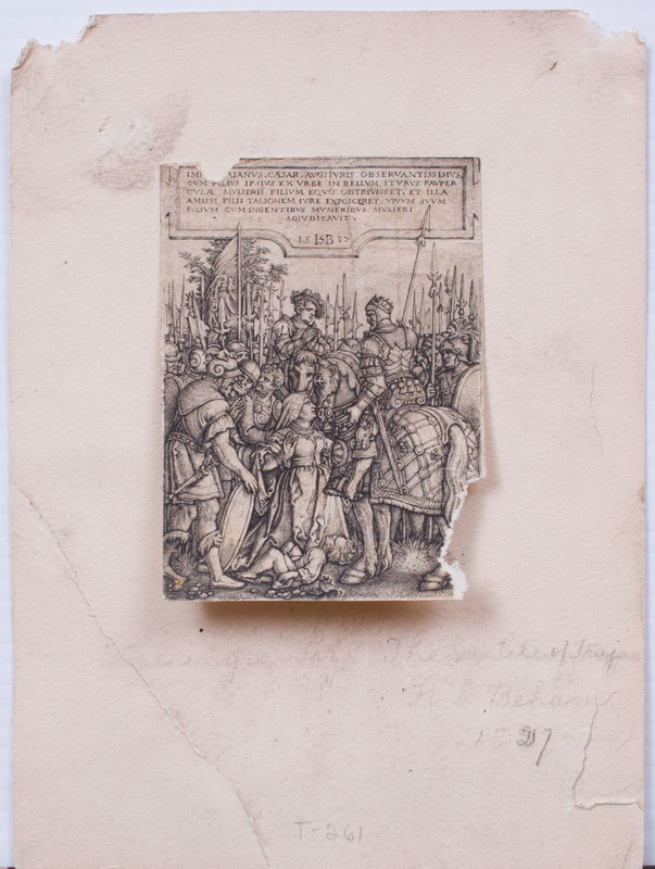 MISCELLANEOUS GROUP OF SIX OLD MASTER PRINTS