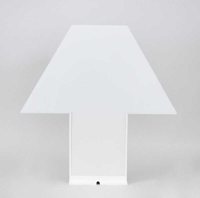 MARIO BARBAGLIA AND MARCO COLOMBO PLEXI 'EDIPO' TABLE LAMP FOR PAF STUDIO