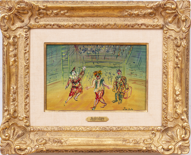 Attributed to Jean Duffy (1888-1964):  Les Trois Clowns