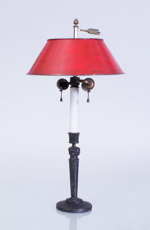 FRENCH DIRECTOIRE CANDLESTICK LAMP
