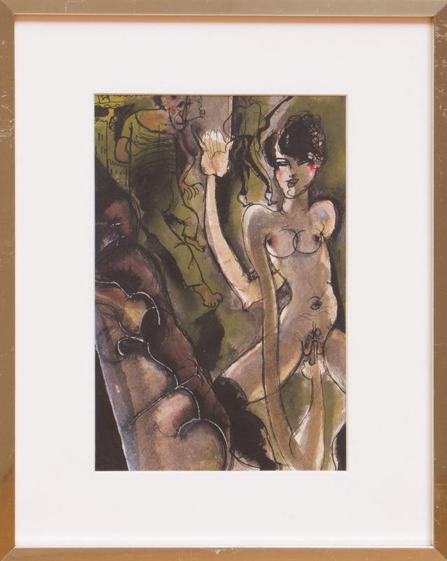 FABIEN LORIS (1900-1984): PORNO PIC