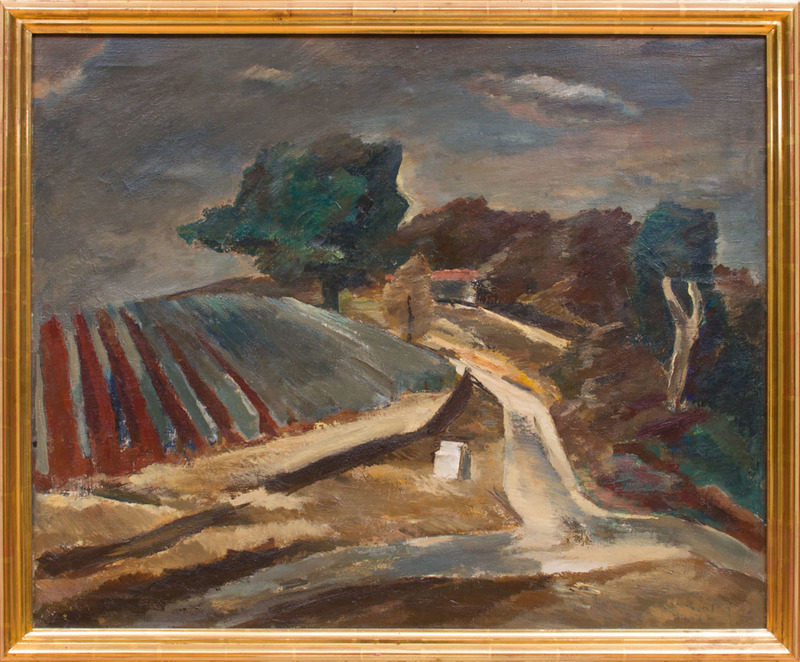 ATTRIBUTED TO PIOTR WOLKONSKY (1901-1997): EN MONTANT LA COLLINE