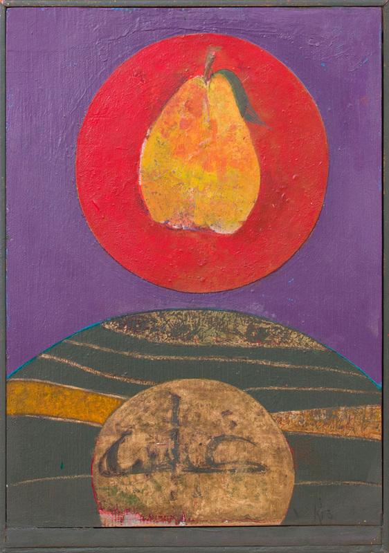 SARKIS SARKISIAN (1909-1977): PEAR; AND TWO PEARS