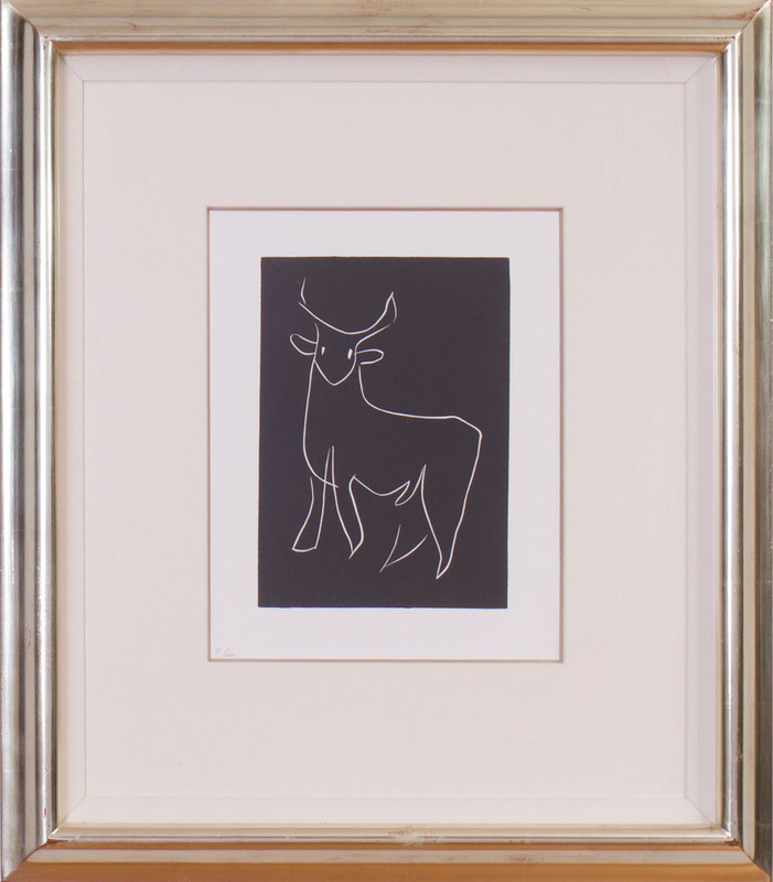 AFTER HENRI MATISSE (1869-1954): STANDING BULL; AND FIGURE, FROM PASIPHAÉ