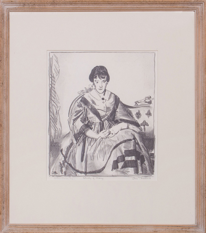GEORGE BELLOWS (1882-1925): STUDY OF MARY