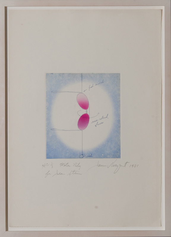 JAMES ROSENQUIST (1933-2017): WATER LILY