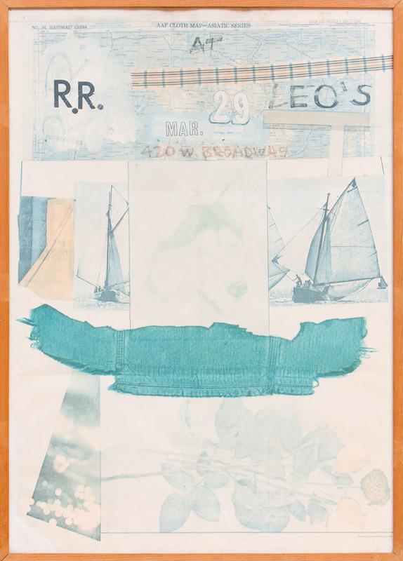AFTER ROBERT RAUSCHENBERG (1925-2008): LEO CASTELLI EXHIBITION POSTER