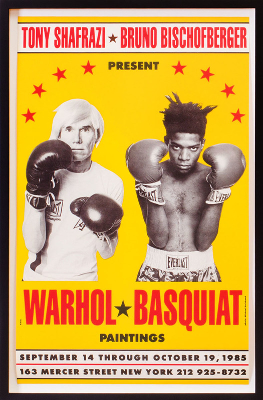 AFTER ANDY WARHOL (1928-1987) AND JEAN-MICHEL BASQUIAT (1960-1988): WARHOL-BASQUIAT PAINTINGS
