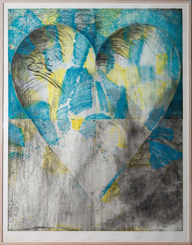 JIM DINE (b. 1935): HEART AND THE WALL