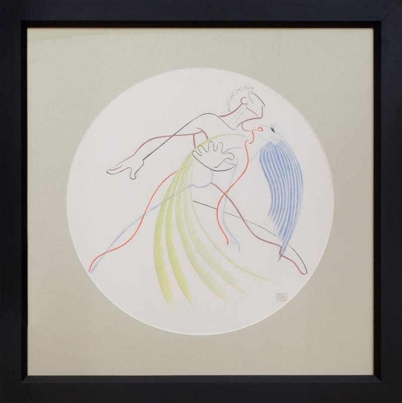 AL HIRSCHFELD (1903-2003): THE DANCE