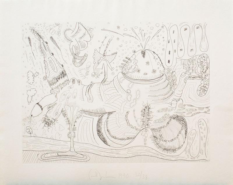 CARROLL DUNHAM (b. 1949): PUMPING SHAPE