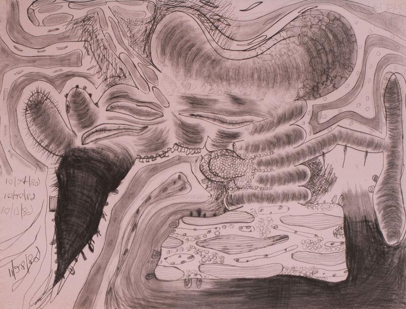CARROLL DUNHAM (b. 1949): TOUCHING 2 SIDES