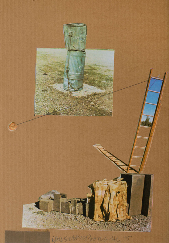 ROBERT RAUSCHENBERG (1925-2008): COMPOSITION, FROM THE MAN RAY PORTFOLIO