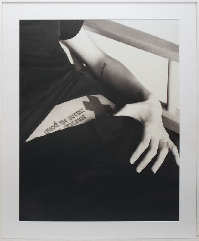 GILLES BENSIMON (b. 1944): ANGELINA JOLIE