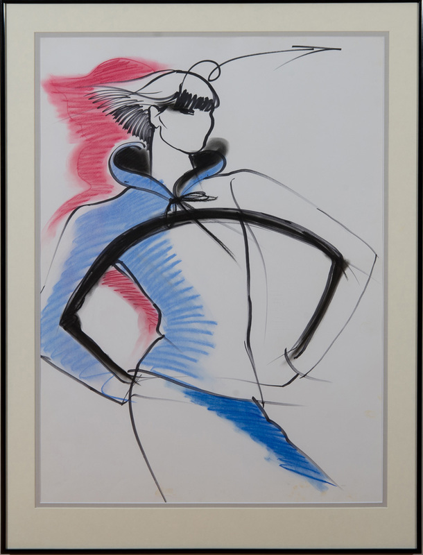ANTONIO LOPEZ (1943-1988): FASHION STUDY