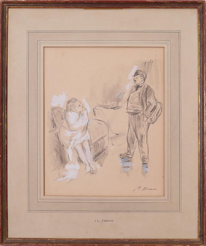 JEAN-LOUIS FORAIN (1852-1931): THE CONVERSATION