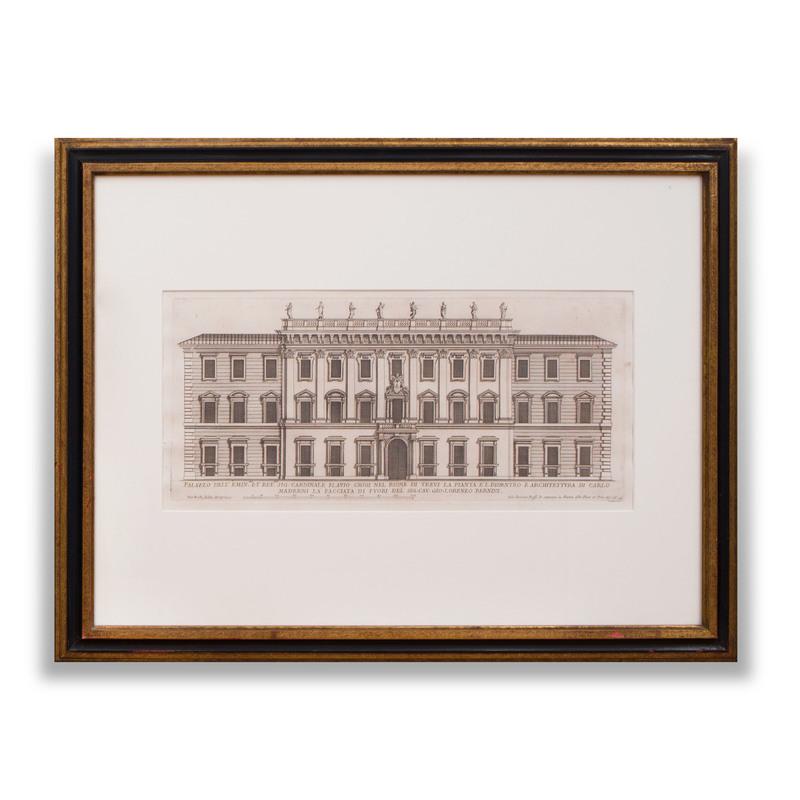 Italian School: Palazzo dell Emin. et Rev. Sig. Cardinale Flavio