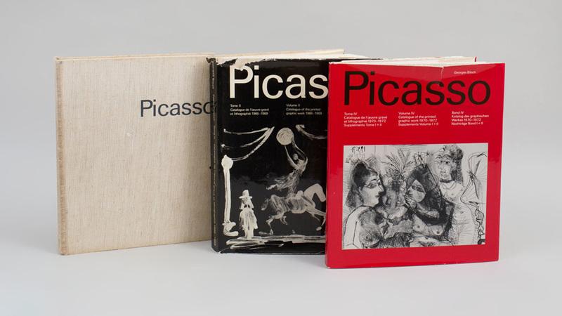 Pablo Picasso Catalogue De L'Oeuvre Gravé et Lithographie, Vol. I, II, and IV