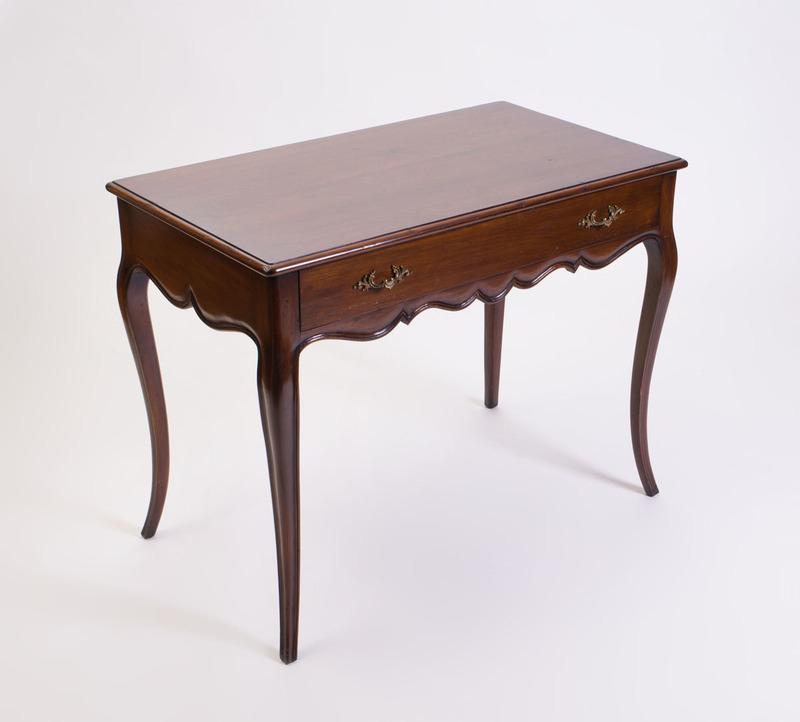 LOUIS XV STYLE MAHOGANY SIDE TABLE