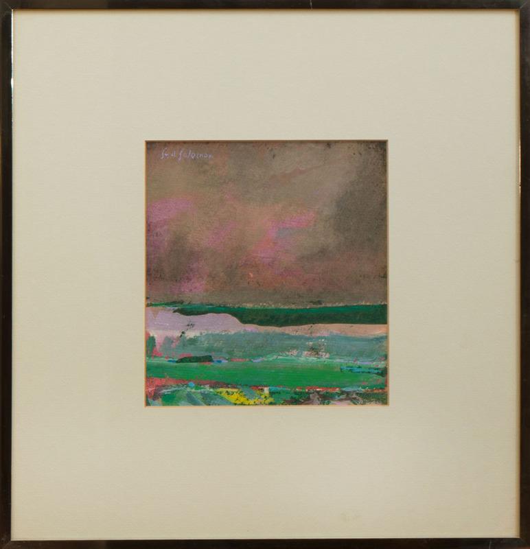 SYD SOLOMON (1917-2004): GLIMPSE OF THE SEA