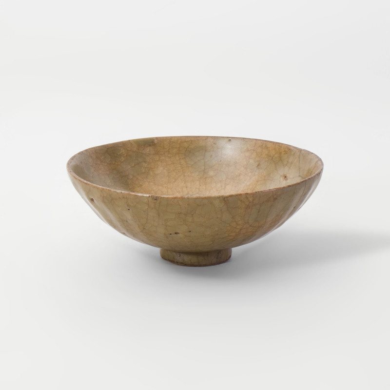 Chinese Celadon Glazed Pottery Bowl
