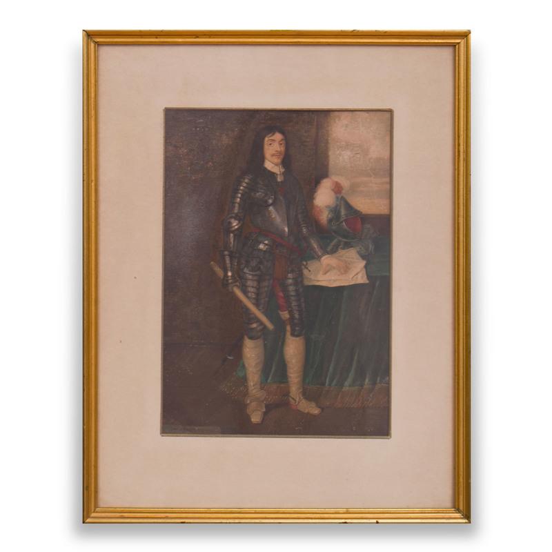 Attributed to Adrian Hanneman (c. 1601-1691): Portrait of the Earl of Hamilton