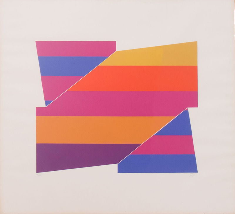 LARRY ZOX (1937-2006): ROTATION SERIES
