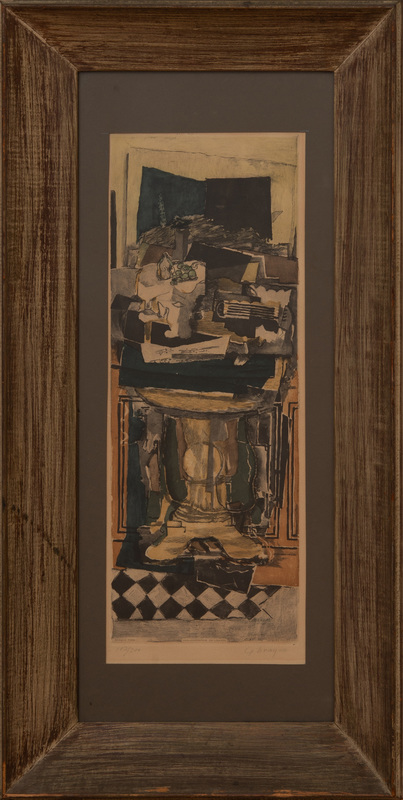 JACQUES VILLON (1875-1963): AFTER GEORGE BRAQUE (1882-1963): STILL LIFE