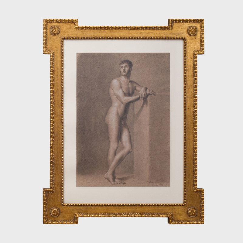 French School: Standing Male Nude