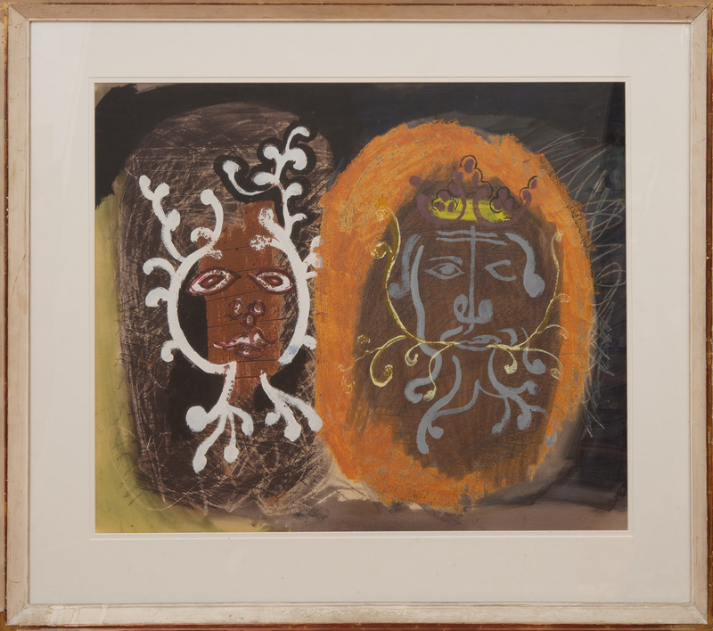 JOHN PIPER (1903-1992): FOLIATE HEADS