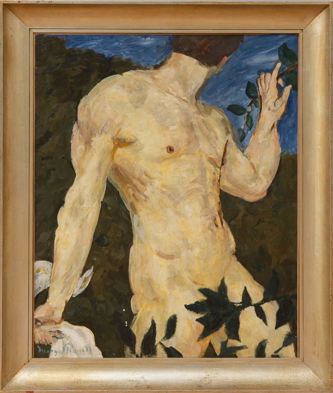 MORGAN RUSSELL (1886-1953): MALE BATHER
