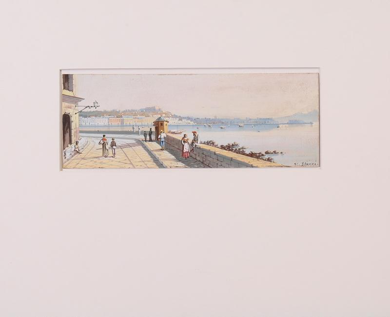 MARIA GIANNI (1873-1956): NAPOLI DA VILLA BARBAIA