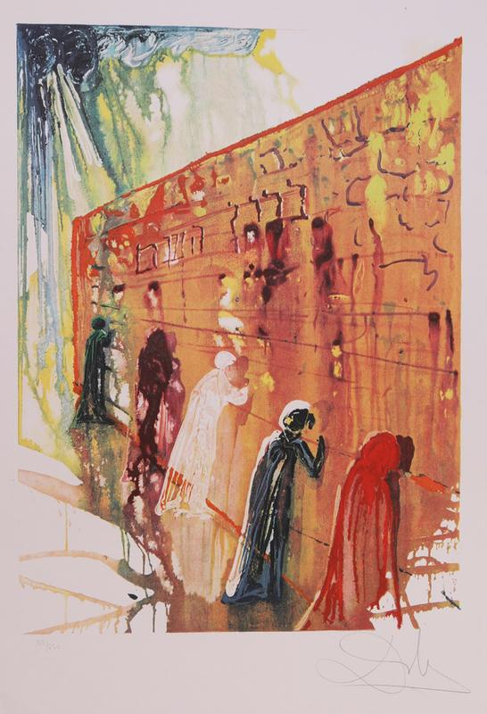 SALVADOR DALI (1904-1989): WAILING WALL