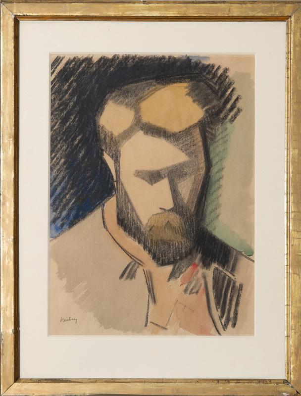 AUGUSTE HERBIN (1882-1960): PORTRAIT DE SON PÈRE