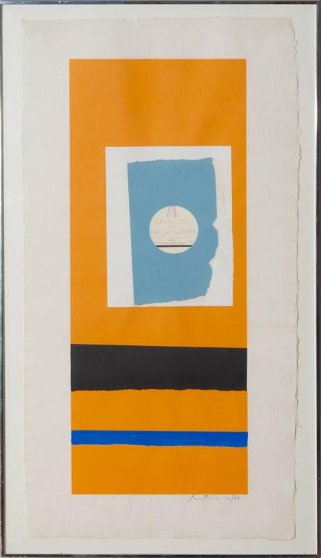 ROBERT MOTHERWELL (1915-1991): PAUILLAC #2