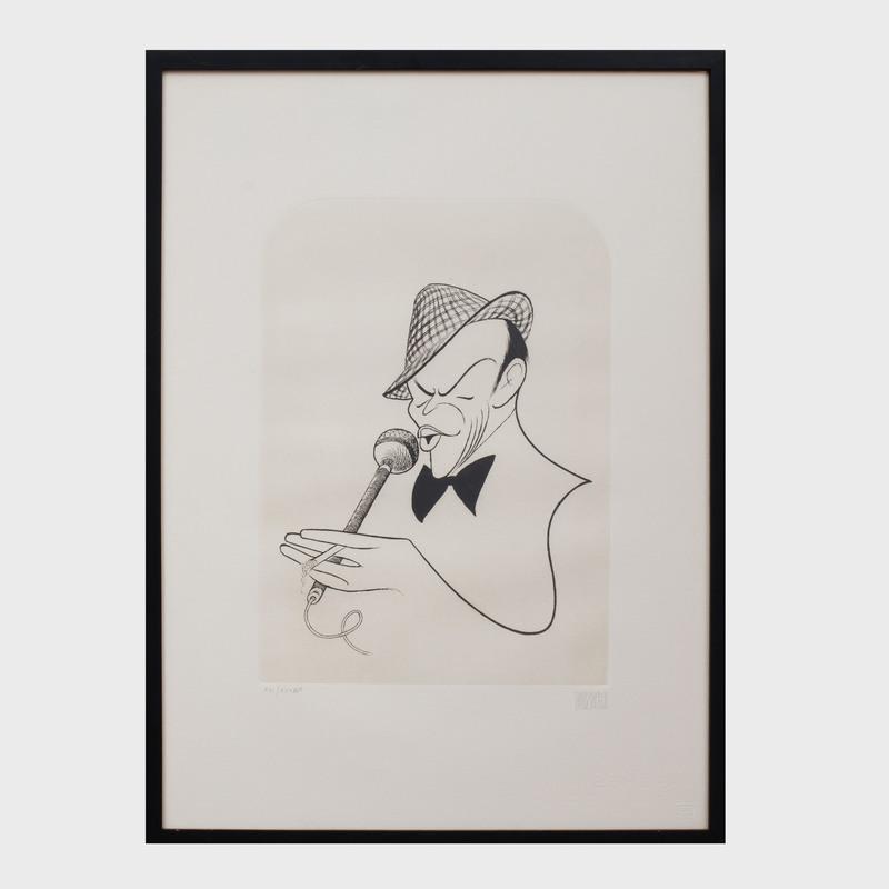 Al Hirschfeld (1903-2003): Frank Sinatra