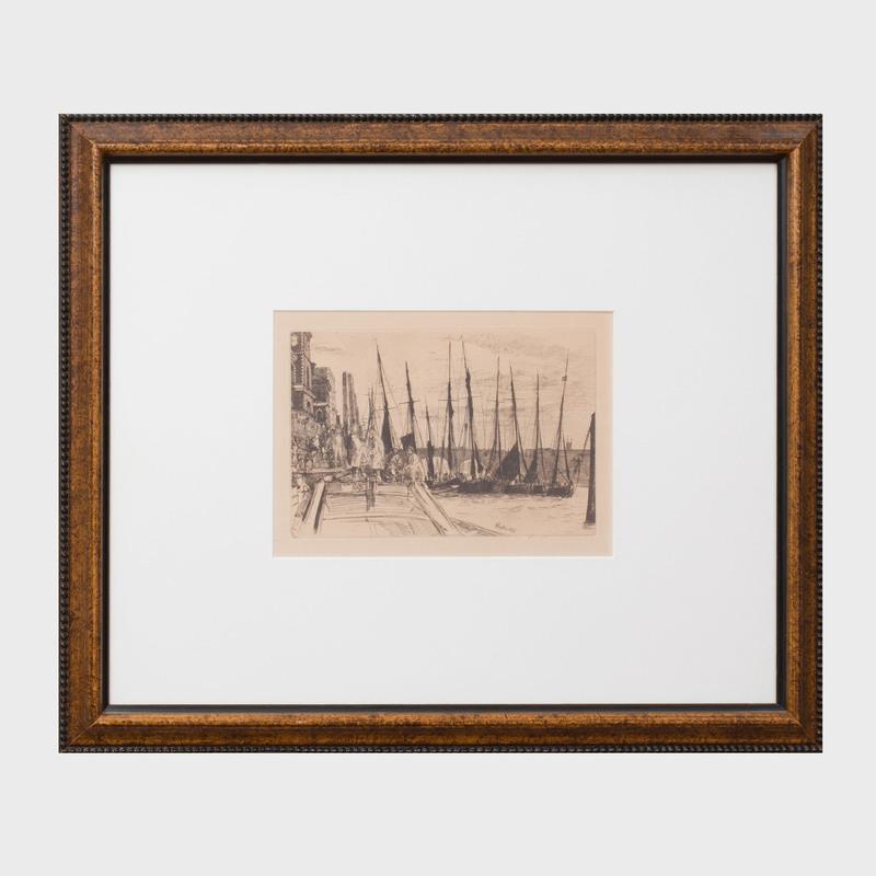 James Abbot McNeill Whistler (1834-1903): Billingsgate