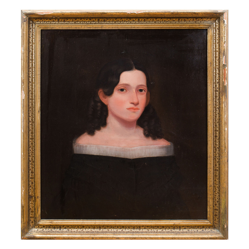American School: Portrait of a Young Lady