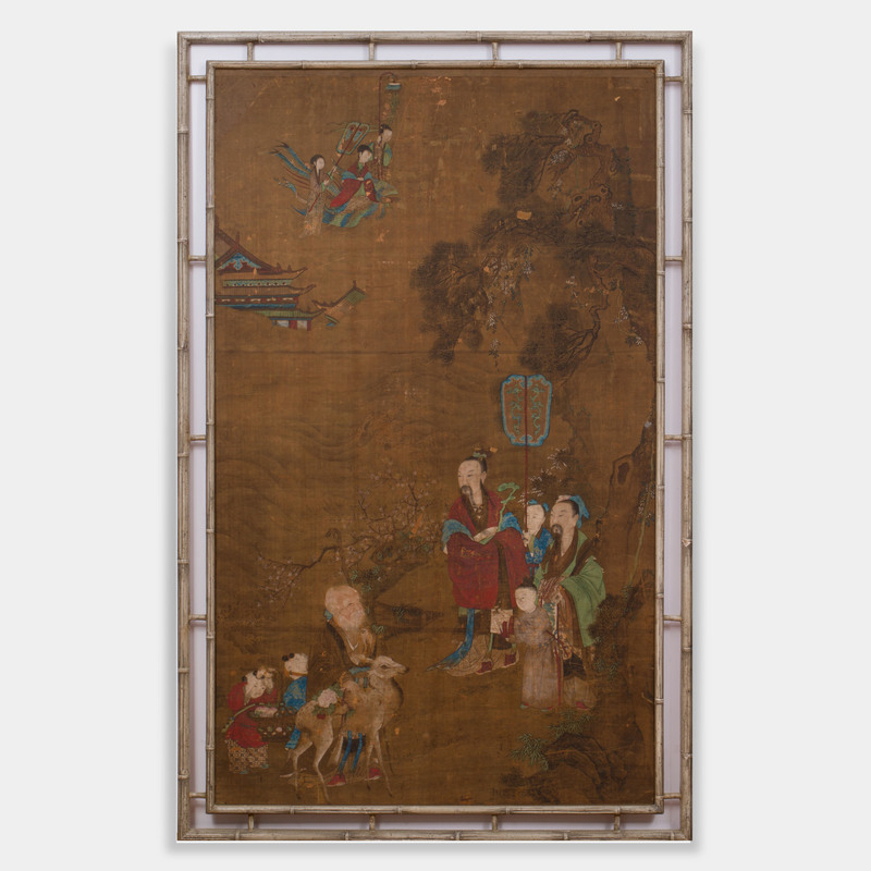 Chinese School: Immortals in a Landscape