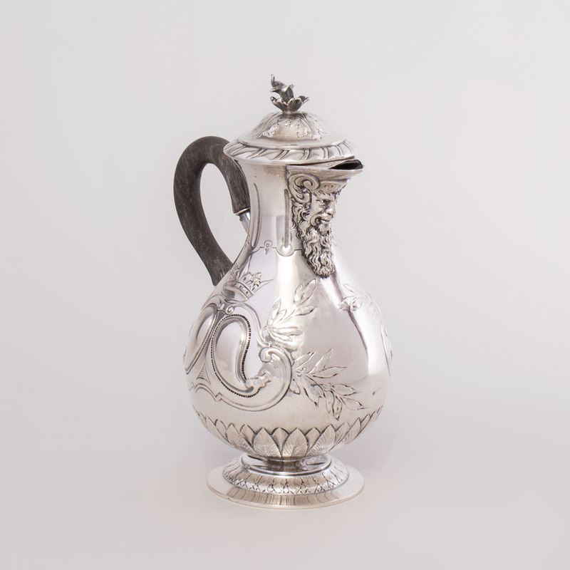 Continental Silver Coffee Pot
