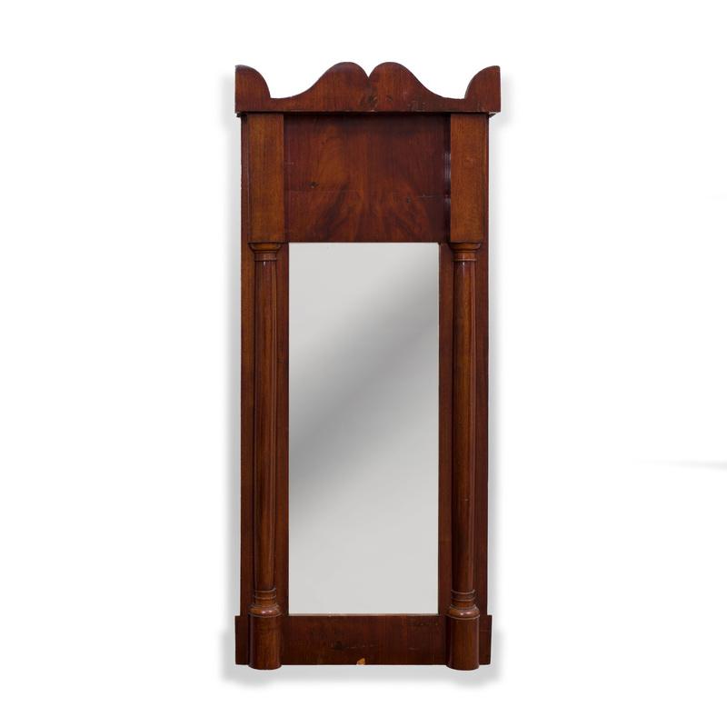 Victorian Mahogany Pier Mirror